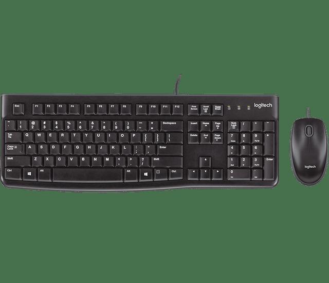 LOGITECH | MK120 Desktop Arabic Keyboard | Black | 920-002546
