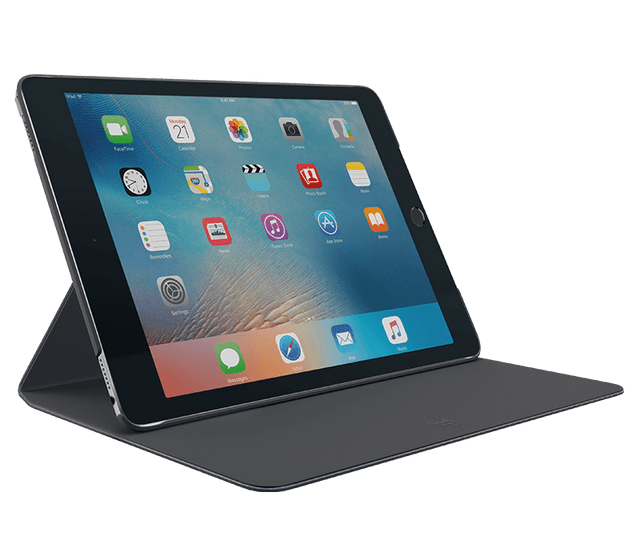 LOGITECH | Hinge Protective Case with Stand for iPad | 9.7"
