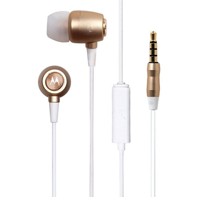 MOTOROLA | Mmeg- Metal Ear Buds | 10mm | MMEG- Metal Ear Buds Gold