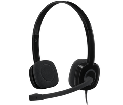 LOGITECH | H151 Stereo Headset with Noise-Cancelling Mic | 981-000589