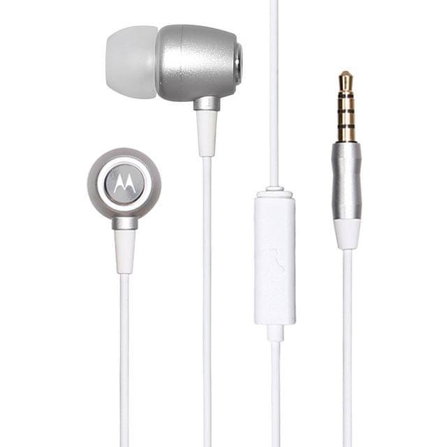 MOTOROLA | Mmes- Metal Ear Buds | 10mm | MMES- Metal Ear Buds Silver