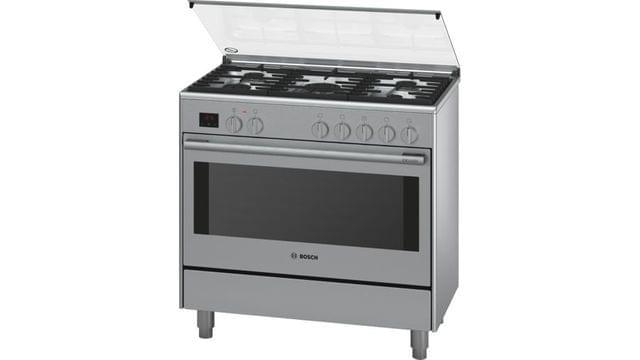 BOSCH   Dual Fuel Range Cooker   76 kg   220-240 V   Stainless Steel   HSB738357M