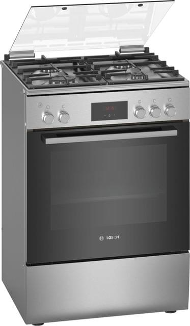 BOSCH | Free Standing Gas Cooker | 47 Kg | Stainless Steel | HGB320E50M
