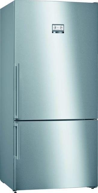BOSCH | Free Standing Fridge Freezer | 121 Kg | 100 W | Stainless Steel | KGN86AI30M