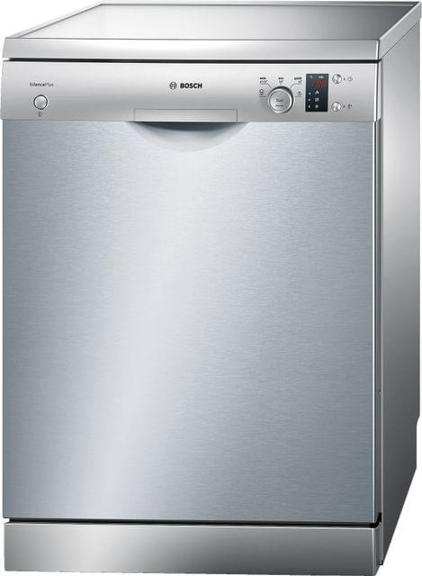 BOSCH | Free Standing Dishwasher | Silver | 43 Kg | 2400 W | SMS50D08GC