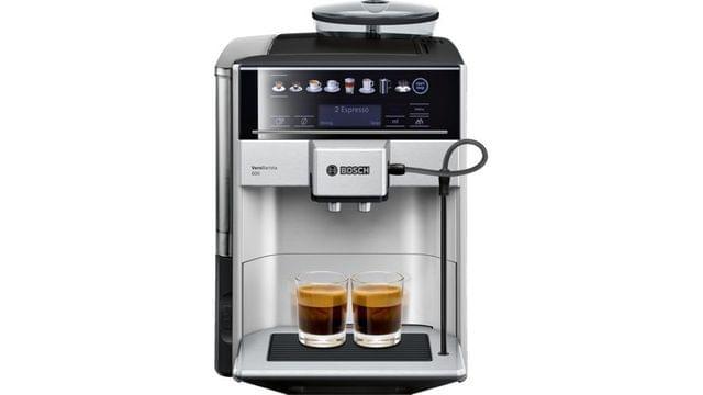 BOSCH   Fully Automatic Coffee Machine   1500 W   9.84 Kg   Silver l TIS65621GB