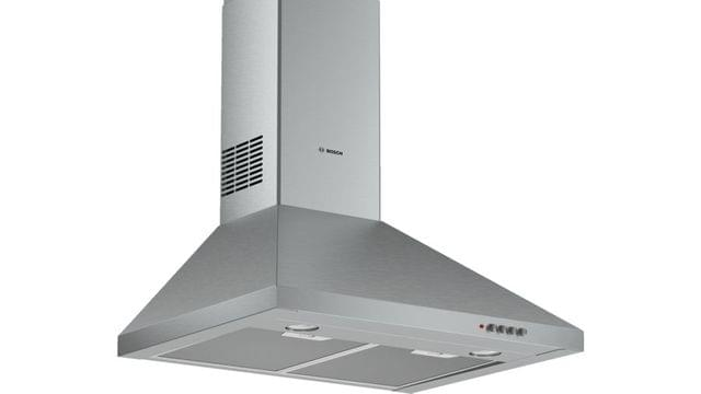 BOSCH | Serie 2 Wall-Mounted Cooker Hood | 135 W | Stainless Steel | DWP64CC50M