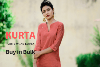 Party Wear Kurta in Wholesale