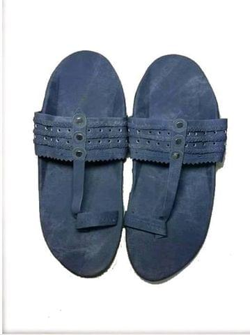 SANDLE KOLHAPURI DENIM