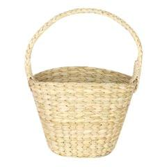 HabereIndia - Elegant and Lightweight Fruit Basket/Table Basket/Multipurpose Storage Basket