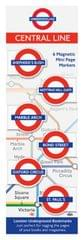 TCCIF London Mag Bookmark Central Lines (98102)