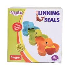 FUNSKOOL GIGGLES LINKING SEALS