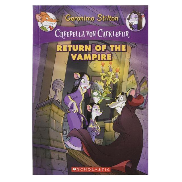 Return Of the vampire ( Creepella Von Cacklefur)