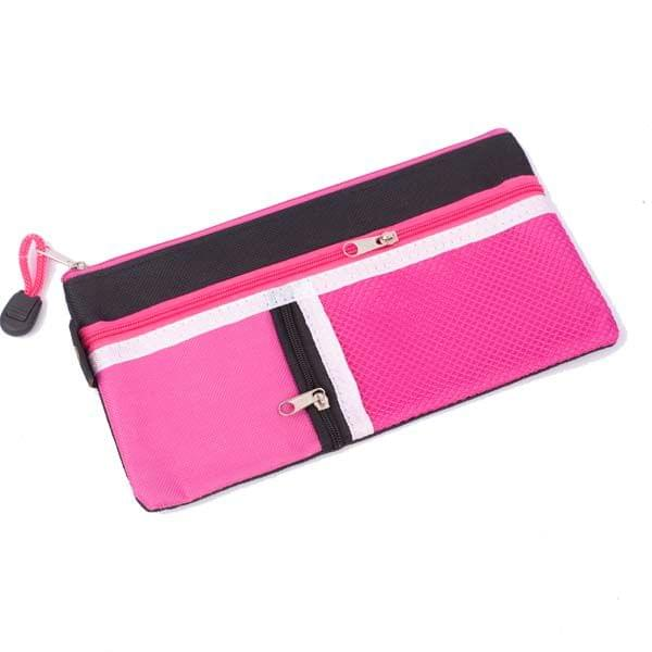 Worldone My Zipper Pouch DC 252 Pink And Black