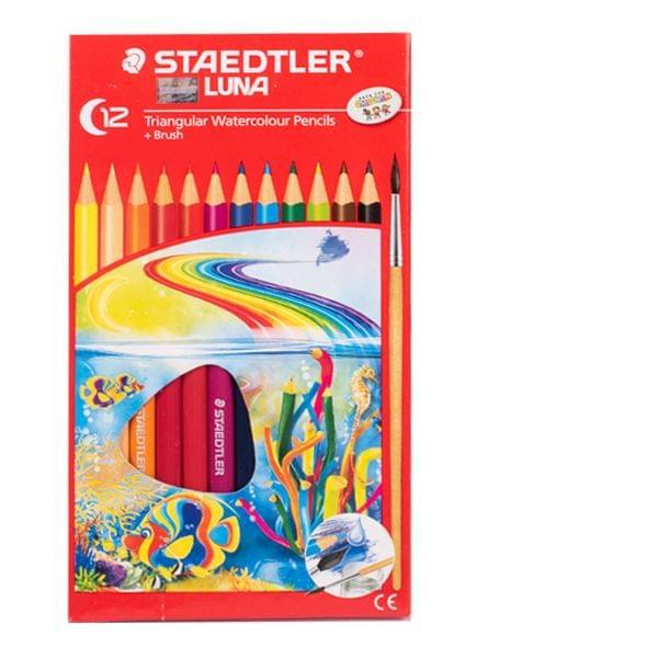 Staedtler Luna Tringular Watercolour Pencils C12
