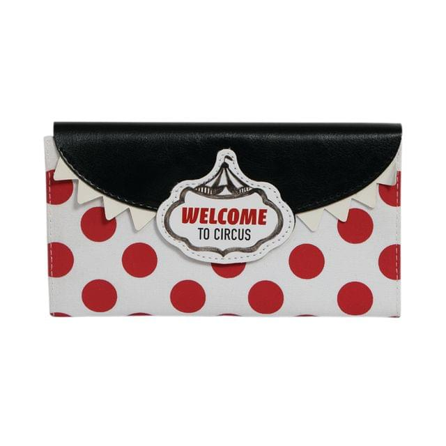 Ink The Town Circus Black Fabric Cover Dairy