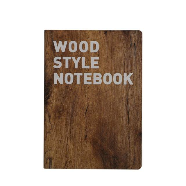 Ink The Town D Wood Style B5 Notebook