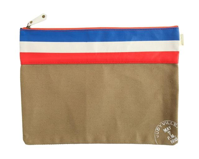 Ink The Town Brown Flag Document Folder