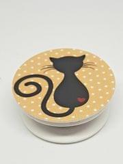 Ink The Town Cat Designe Pop Socket