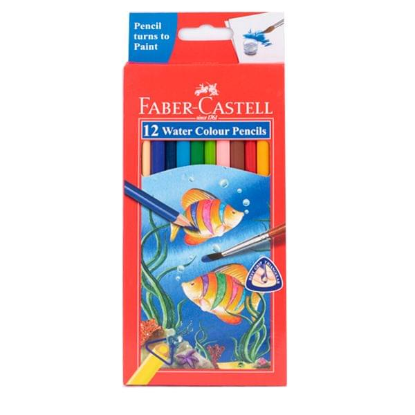 Faber Castell 12 Water Colour Pencils