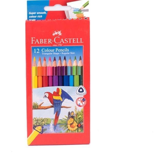 Faber Castell Colour Pencil 12 Shades