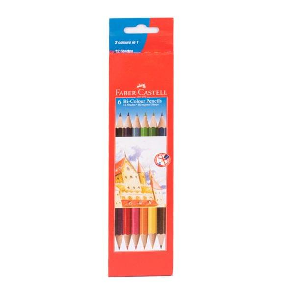 Faber Castell 6Bi Colour Pencils 12 Shades