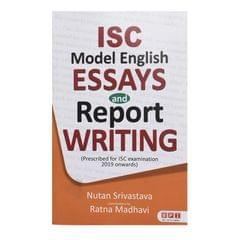ISC Model English Essays And Report Writing
