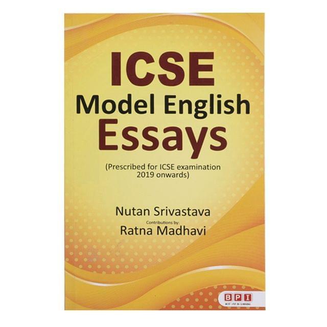 ICSE Model English Essays