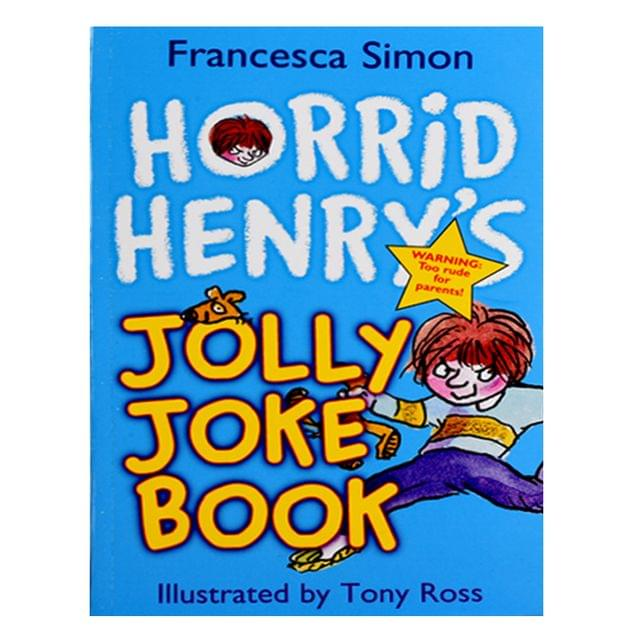 Horrid Henary Jolly Joke Book