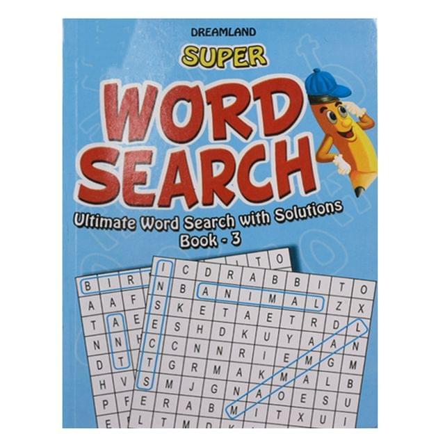 Super word search book -3