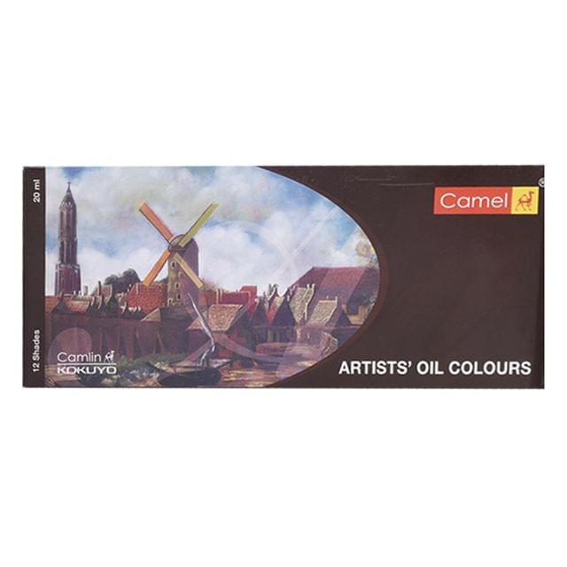 Camlin Artist Oil Colour Box 20 MLx12 Tubes