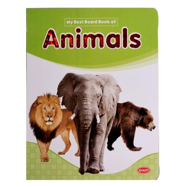Animals my best board book