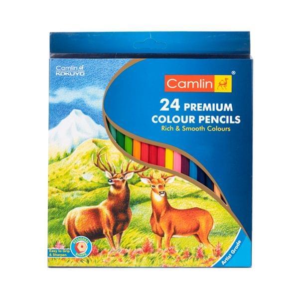 Camlin 24 Premium Colour Pencils