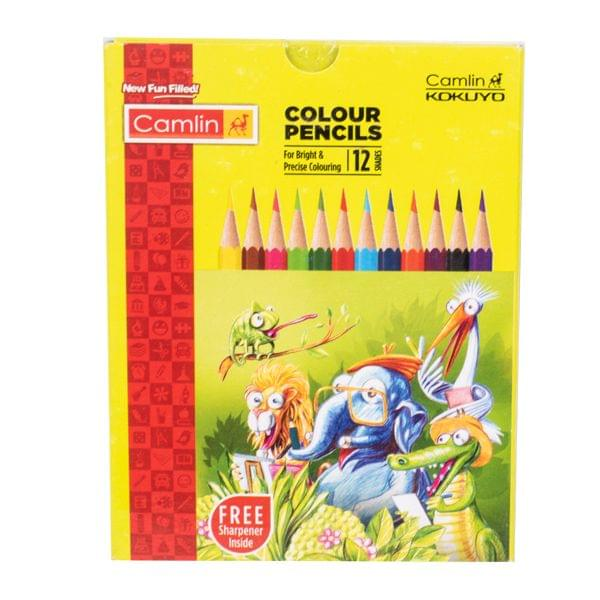 Camlin Colour Pencils 12 Shades