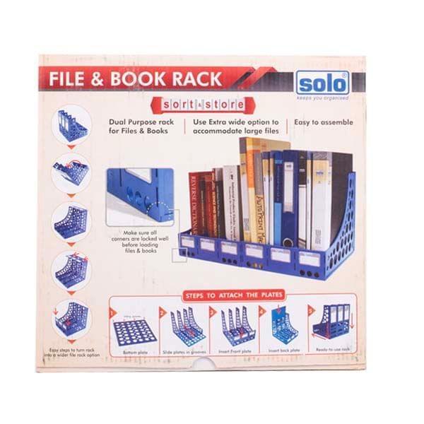 Solo FS 301 File & Book Rack