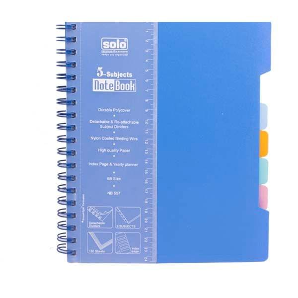 Solo NB 557 Notebook Blue