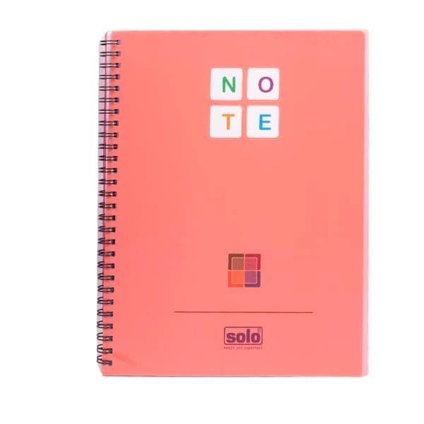 Solo NA 578 Red Notebook