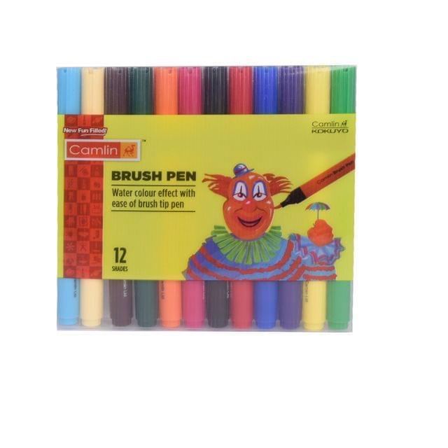 Camlin Brush Pen 12 Shades