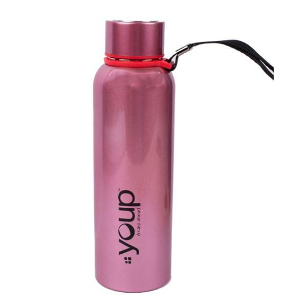 Youp YP 803 Pink Water Bottle -500ML