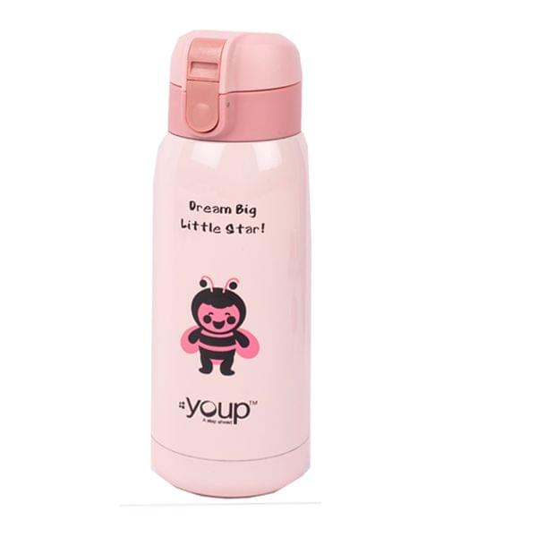 Youp YP 352 Pink water Bottle 350ML