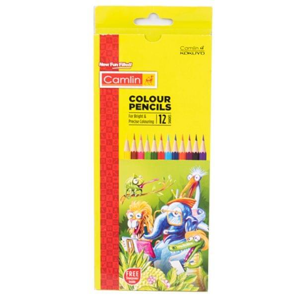 Camlin Colour Pencil 12 Shades 1
