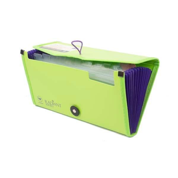 Worldone Cheque Folder Green (FL 03)