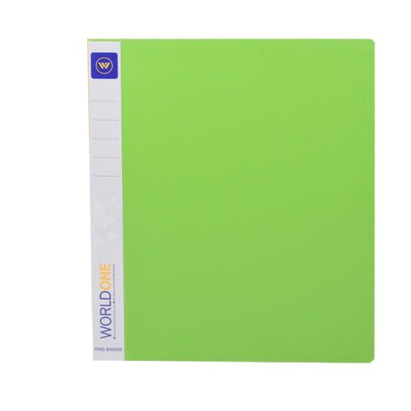 Worldone RB 400 Green Ring File
