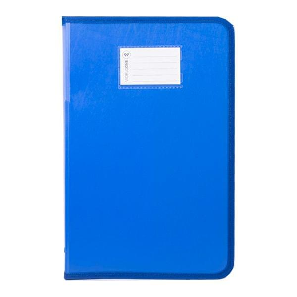 Worldone DB 515 Zip Blue Cover File