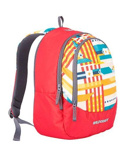 WIKI Junior 1 Pixel Red bag