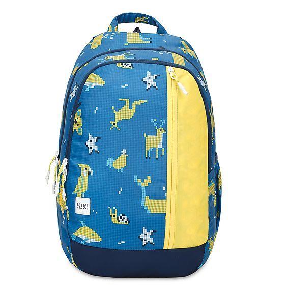 WIKI Junior 3 Pixel Blue Bag