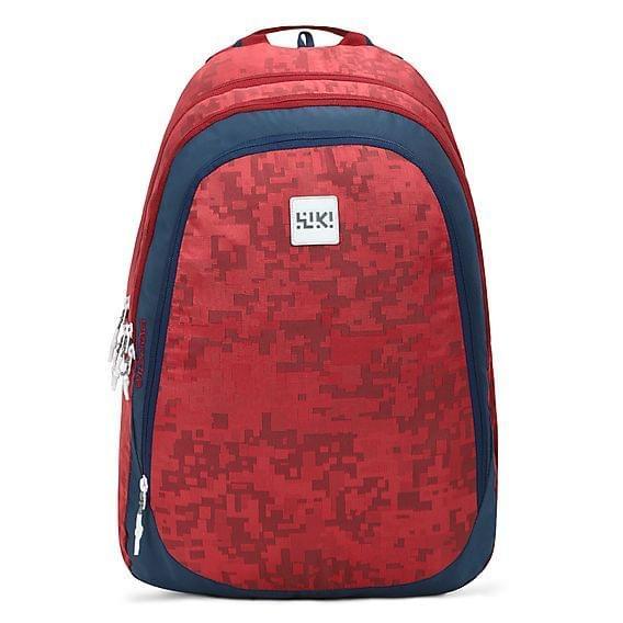 WIKI 7 Jacquard Red bag