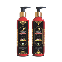 Aegte Natural Hair Conditioning Shampoo Enriched with Red Onion, Fenugreek Seeds, Kalonji & Amla, 250 ml Each- Pack of 2
