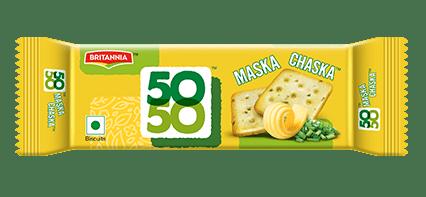 BRITANNIA - 50 50 MASKA CHASKA