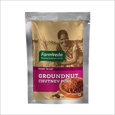 FARMVEDA - GROUNDNUT CHUTNEY POWDER - 100 Gms
